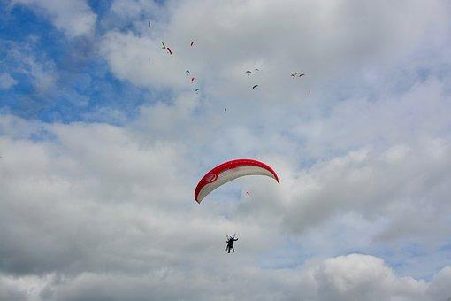 Paragliding Bis Place, Paragliding, Paraglider Lou