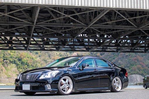 Automotive, Transportation, Car, Road, Crown, 車高短, Port
