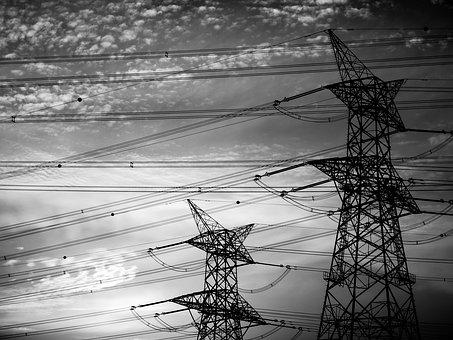 Industry, Power, Electricity, Energy, Sky, Technology