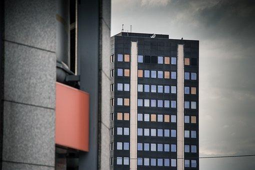 Skyscraper, Business, City, Dark, Architecture, Urban