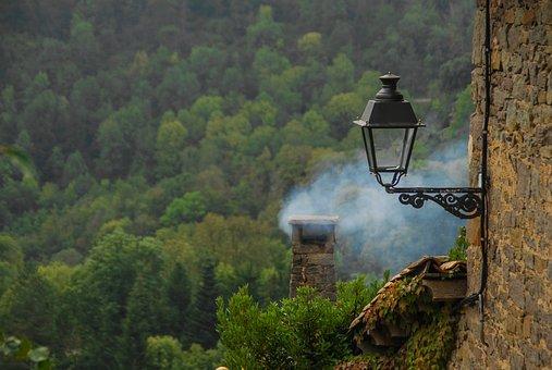Nature, Outdoors, Wood, Travel, Tree, Smoke, Landscape