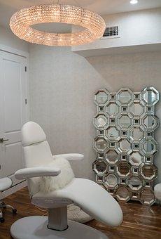 Spa, Beauty Salon, Chandelier, Contemporary, Luxury