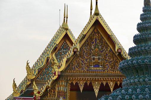Temple, Wat, Buddha, Religion, Wat Pho, Thailand