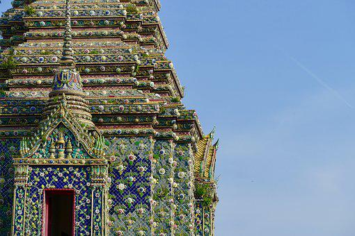 Wat Pho, Architecture, Religion, Travel, Old
