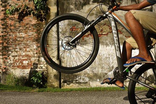 Wheel, Bike, Cyclist, Outdoors, Biker, People