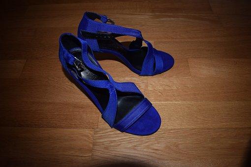 Clothing, Footwear, Fashion, Shoe, Foot, Blue, Wedding