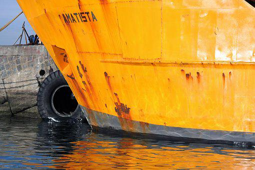Valparaiso, Chile, Body Of Water, Boat, Transport