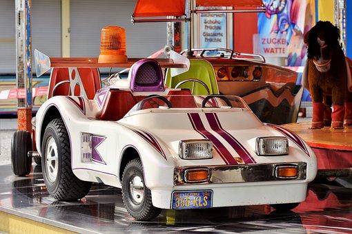 Carousel, Auto, Children Car, Carousel Auto