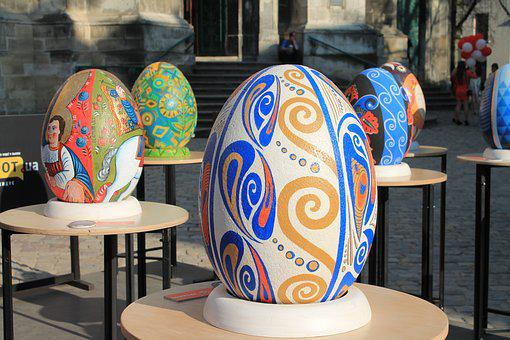 Easter Eggs, Exhibition, The Painted Eggs, Pysanka