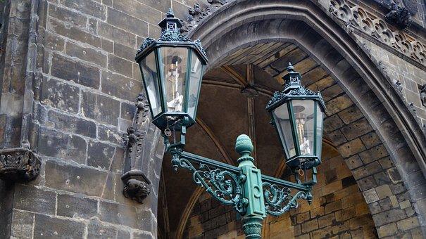 Lamp, Architecture, Old, Lantern, Glass, Street Lamp