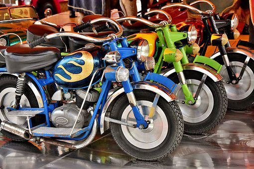 Motorcycles, Hustle And Bustle, Ride, Attraction