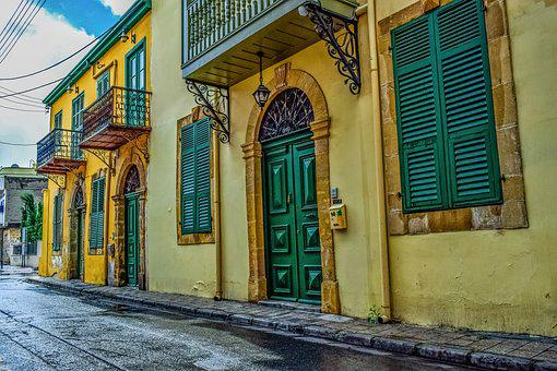 Architecture, Neoclassic, Street, Town, Old, Building