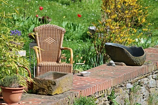 Garden, Resting Place, Idyll, Peaceful, Nature