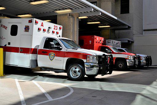 Emergency Room, Hospital, Ambulance, Rescue, Houston