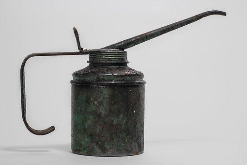 Steel, Iron, Equipment, Kitchenware, Retro, Rusty