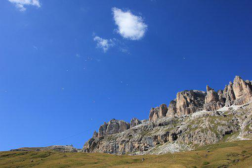 Sky, Nature, Travel, Landscape, Panorama, Rock