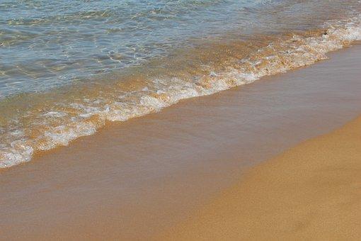 Beach, Sand, Coast