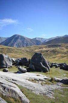 Mountain, Landscape, Nature, Sky, Rock, Hills