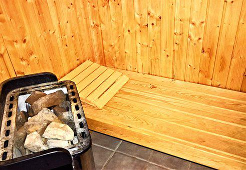 Sauna, Sweating Bath, Scandinavian Sauna, Wood Sauna