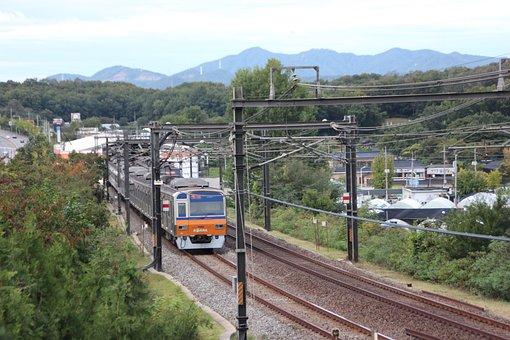 Travel, Nature, Train, Subway, Korea, Republic Of Korea