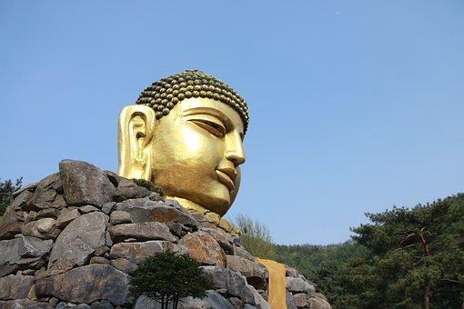 Heaven, Travel, Sculpture, Outdoors, Buddha