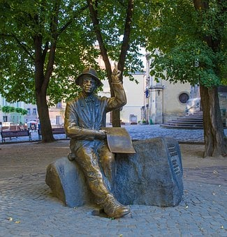 Sculpture, Lviv, Ukraine, Artist, Bronze, Summer