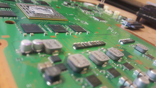 Circuit, Board, Console, Components, Solder, Capacitor