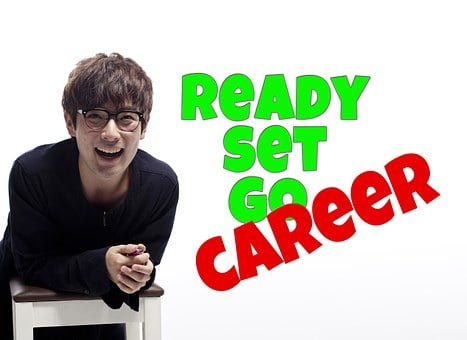 Career, Man, Laugh, Smile, Happy, Relaxed, Glasses