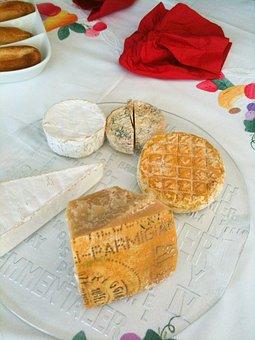 Cheese, Cheeseboard, Food, Camembert, Brie, Board