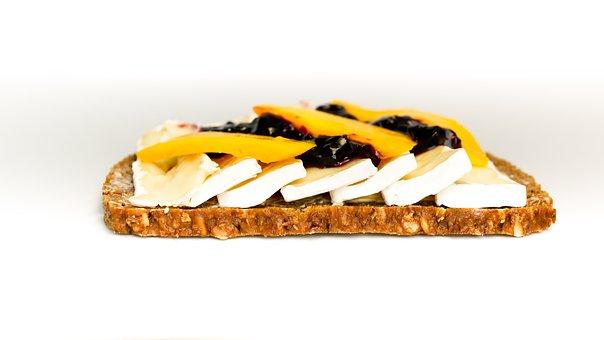 Sandwich, Bread, Cheese, Camembert, Brie, Mango