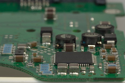Board, Computer, Computer Motherboard, Chip