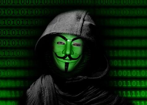 Mask, Internet, Anonymous, Digital, Null, One, Globe