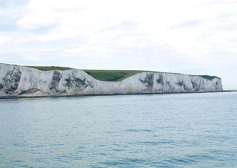 Dover, Cliffs, England, Coast, Sea, White Cliffs, Water