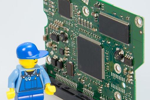 Electrician, Lego, Repair, Craftsmen, Elektroniker