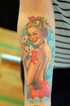 Tatoo, Tattoo Convention, Forearm Tatoo