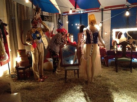 Circus, Dressing-room, Performer, Interview, Dressing