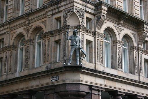 John Lennon, Statue, Mathew Street, Liverpool