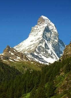 Matterhorn, Mountain, Zermatt, Switzerland