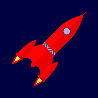 Space Travel, Rocket, Porthole, Window, Drive, Moon