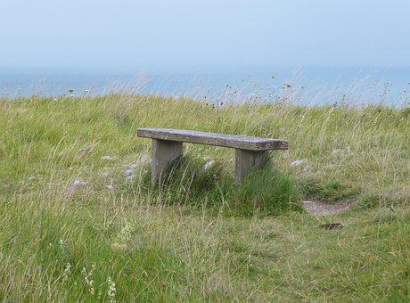Viewpoint, Landscape, Bank, Sea, Coast, Dover, England