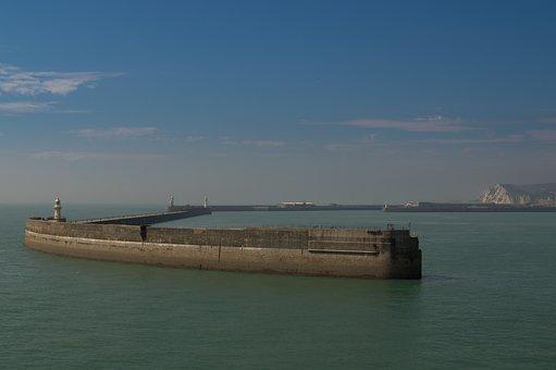 Dover, Sea, Coast, England, English, Ocean, Britain
