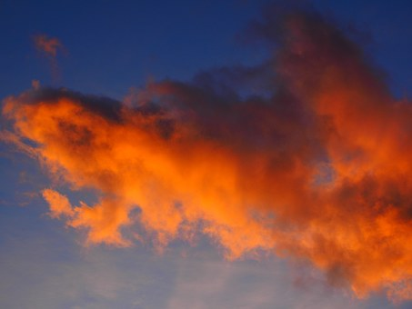 Cloud, Afterglow, Red, Sunset, Sky, Evening Sky