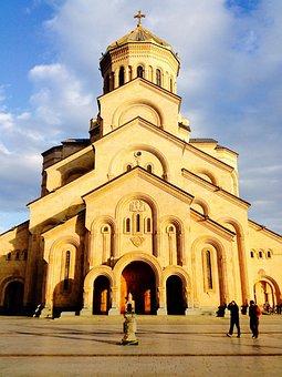 Tbilisi, Georgia, Orthodox, Cathedral, Church, Landmark