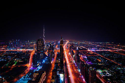Dubai, Cityscape, Emirates, Travel, Architecture