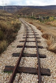 Via, Train, Railway, Rail, Sleepers, Train Tracks