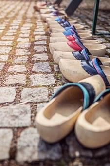 Wooden Shoes, Holland, Netherlands, Shoes, Wood