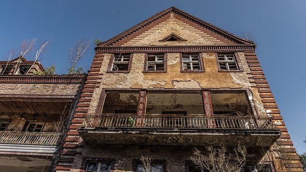 Old, Building, Home, Window, Balcony, Facade, Rustic