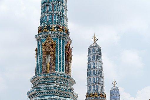 Stupa, Grand Palace, Bangkok, Thailand