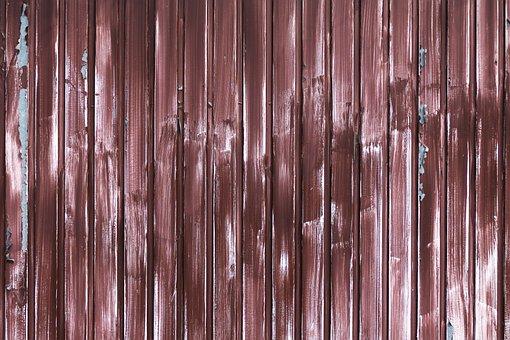Profile Sheet, Weathered, Garage Door, Brushstroke