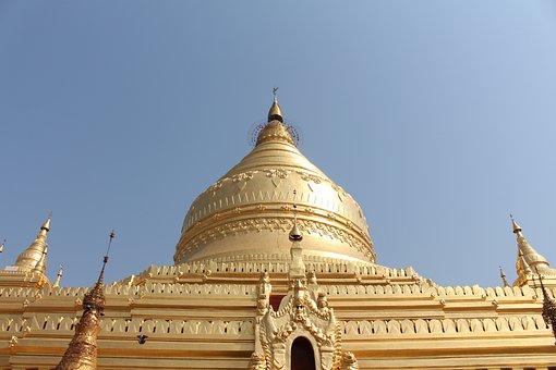 Myanmar, Burma, Temple, Asia, Travel, Old, Bagan